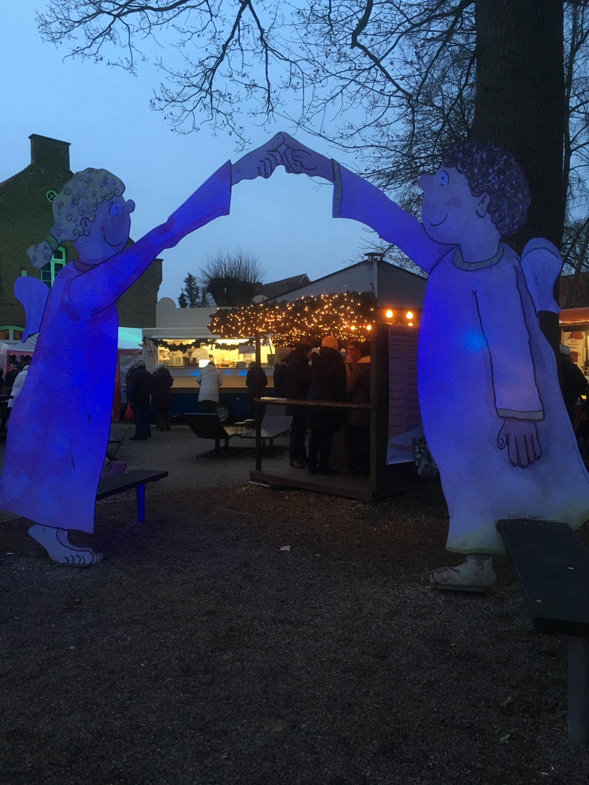 Besuch des Christkindmarkts in Himmelpforten